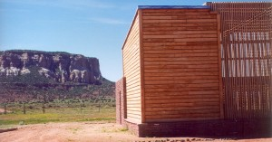 At the Zuni Eagle Sanctuary, care is provided for injured golden and bald eagles. The aviary was designed so the eagles could view the mesa from their cages. Photo-acarch.net