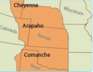 The Arapaho Tribe.map:learner.org