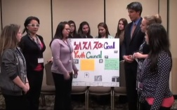 Osage students create a community action. Osage News website